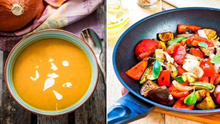 Осенние рецепты блюд из овощей и фруктов.