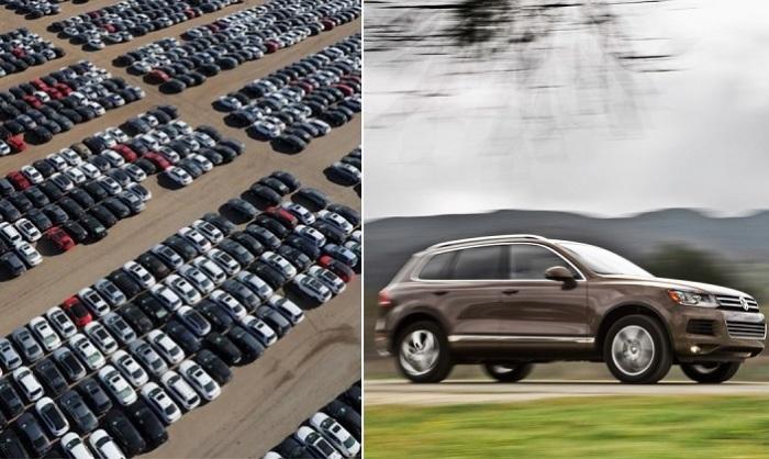 Что это за таинственная парковка с тысячами никому не нужных машин.