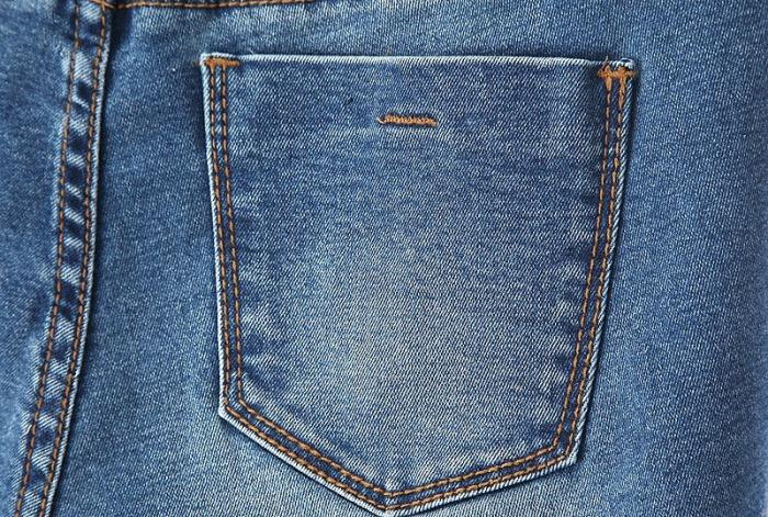 Настоящий пятый карман сзади. /Фото: nashbutik.ru.