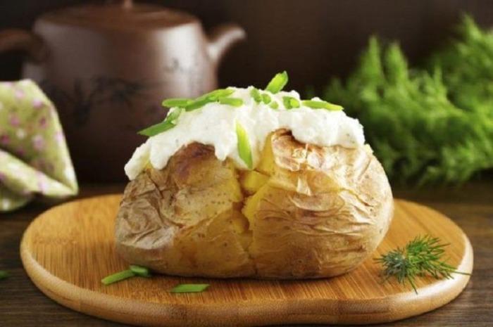 Картошка готова!