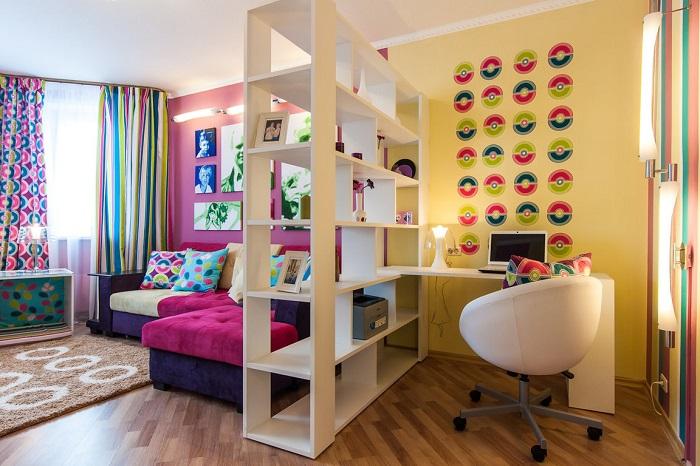 Идеи, которые помогут функционально и стильно зонировать интерьер.
