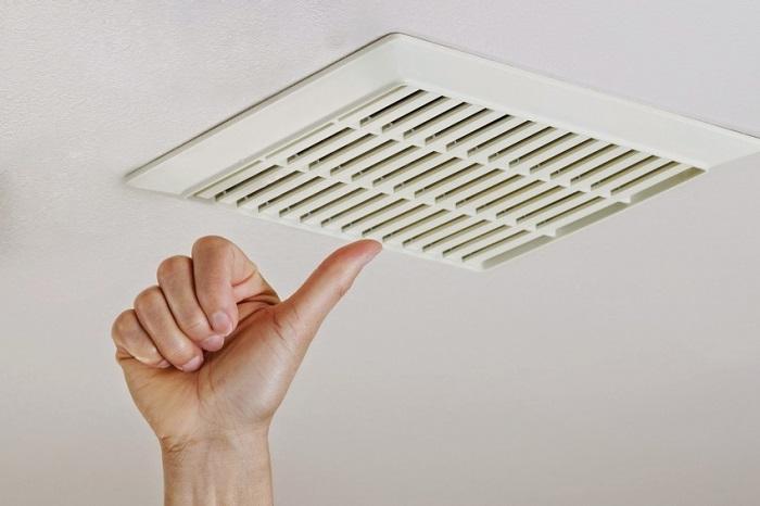 Чтобы вентиляционное отверстие не забивалось.
