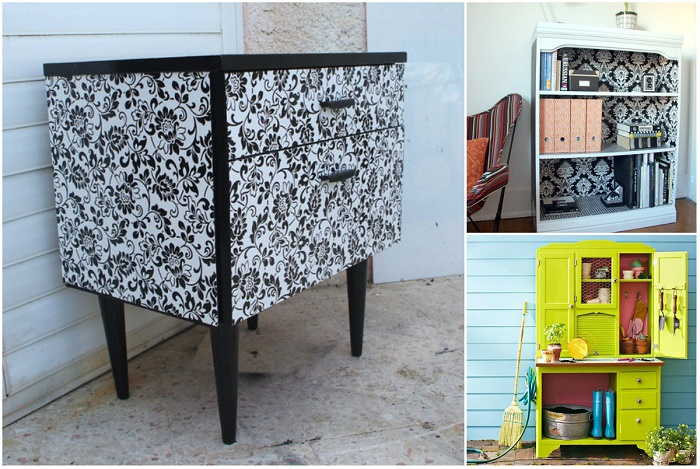 Отличные идеи для того чтобы дать новую жизнь старой мебели.