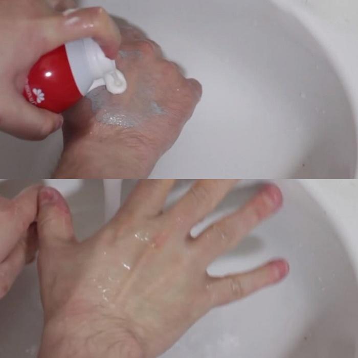 Пена для бритья всегда под рукой.