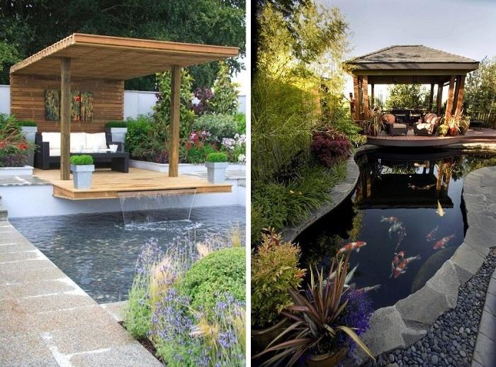 Что надо для полного релакса? Тихое, комфортное место, крутой пейзаж рядом и успокаивающая вода.