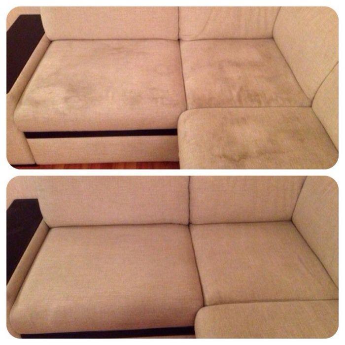 Вернуть дивану былую чистоту поможет сода.