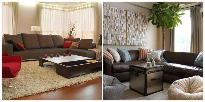Интерьер в доме всегда должен быть из ярких красок.