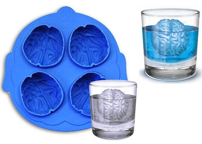 Лед в форме мозга, что ж, мозга много не бывает.