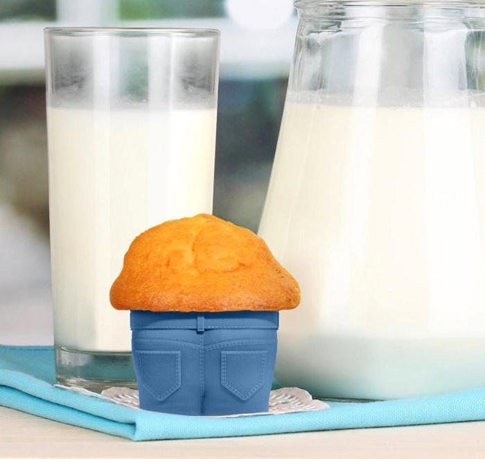Гости тоже оценят вашу необычную форму кексов.