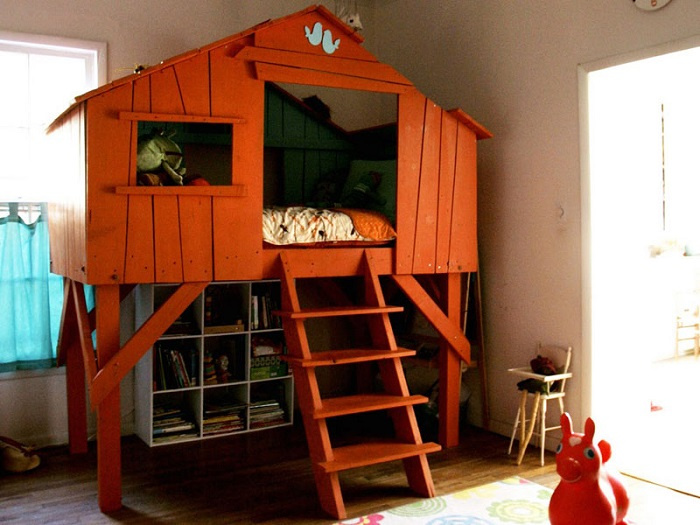 Создайте своему малышу удивительную и необычную комнату на стене.