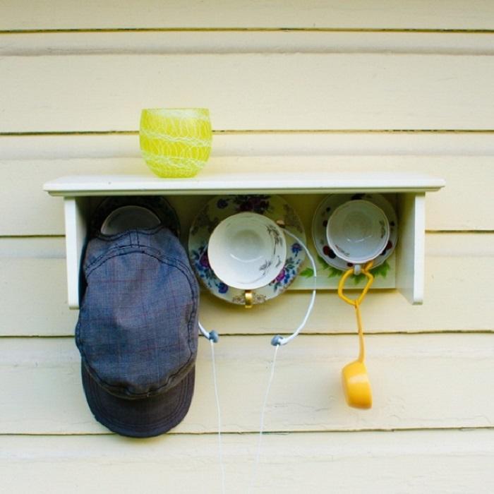 Необычная вешалка, которую заметит и оценит любой гость вашего дома.