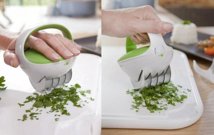 При нарезке зелени вы часто раните пальцы ножом? Отложите свои ножи в сторону.