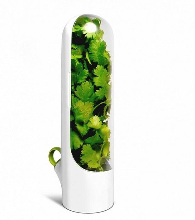 Благодаря этому контейнеру ваша зелень будет, будто вы только ее сорвали с грядки.