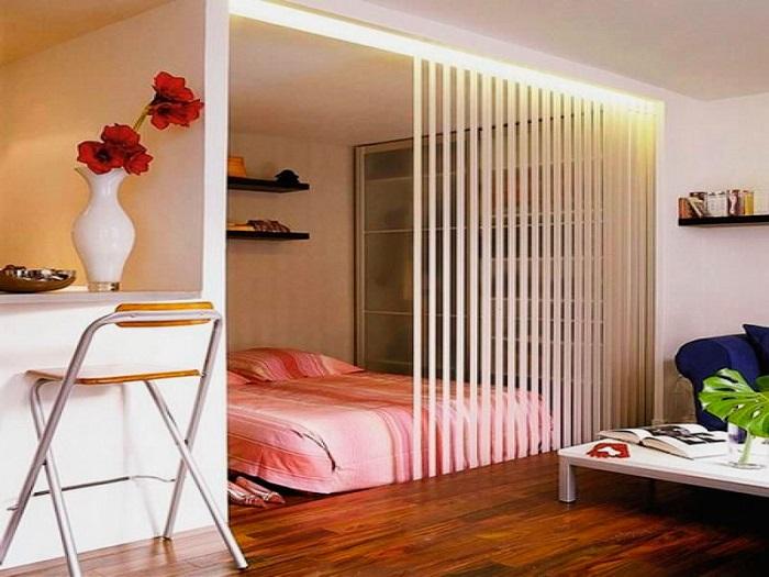 Интересные и полезные идеи для зонирования комнаты