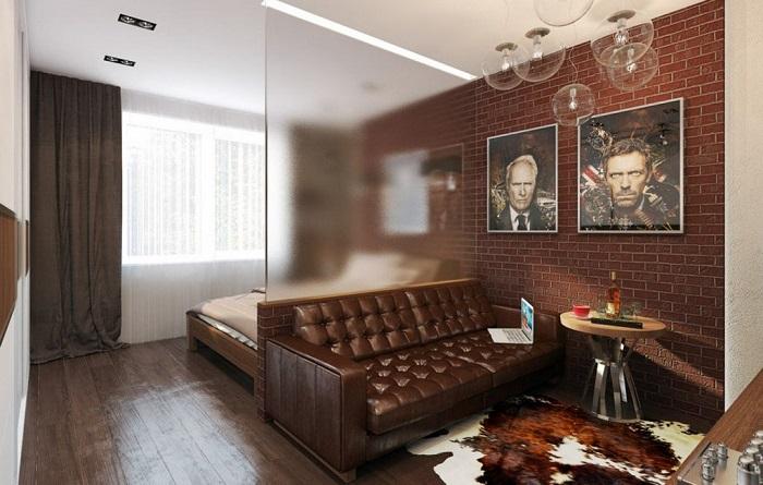 Идея стоит того, чтобы воплотить её в реальность, для  квартиры идеальный вариант.