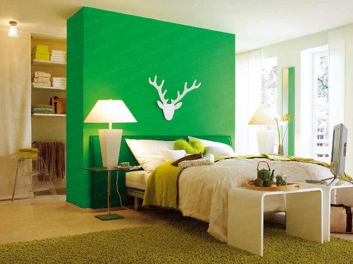 Удобный и практичный вариант без громоздких и скучных шкафов.