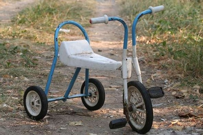 Такой велосипед был практически у каждого советского ребенка.