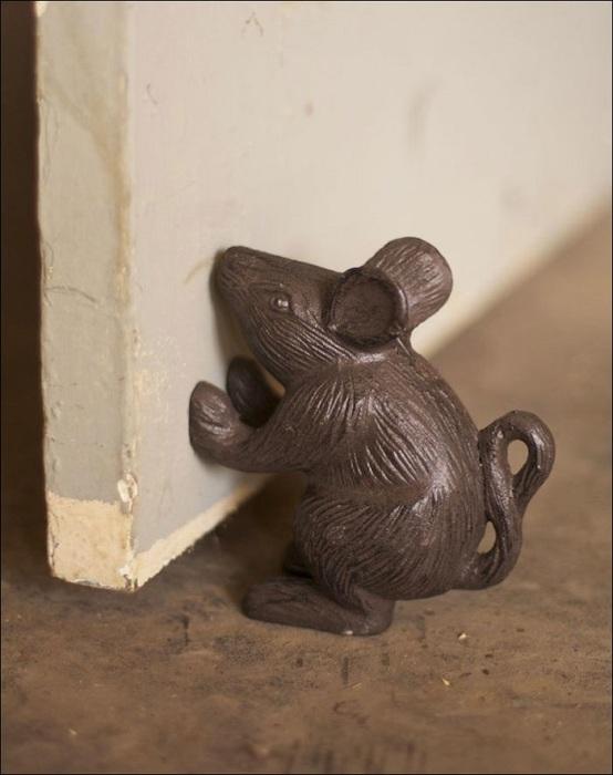 Если не боитесь мышей, тогда без проблем покупайте такой стоппер.