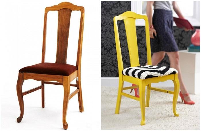 Не бойтесь выбирать яркие краски, мебель в сочных тонах смотрится круто.