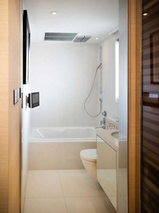 Такая ванная всегда будет смотреться идеально.