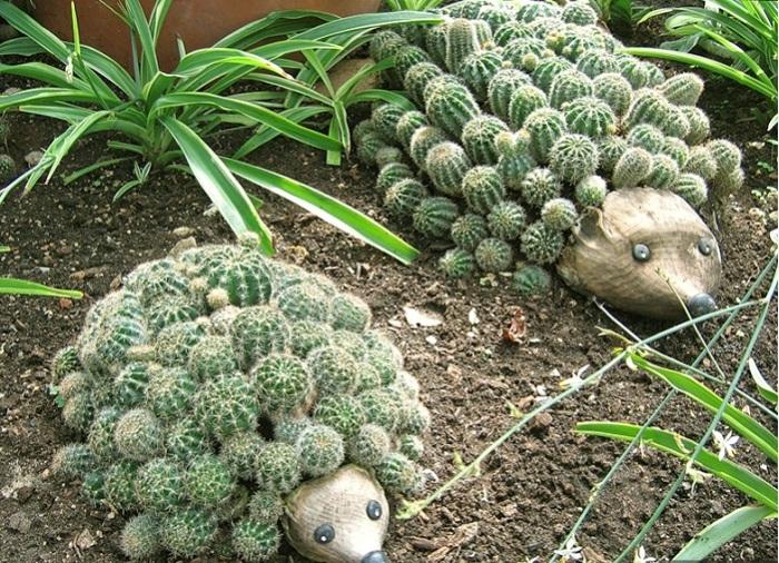 Просто посадить кактусы сможет любой, а вы проявите больше креативности, порадовав себя и гостей.