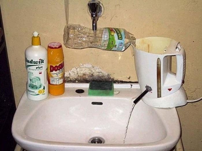 Отключите горячую воду вообще, зачем переплачивать.