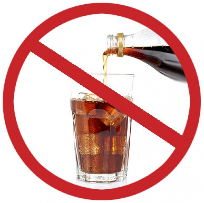 Главное правило — исключить сахар их напитков.