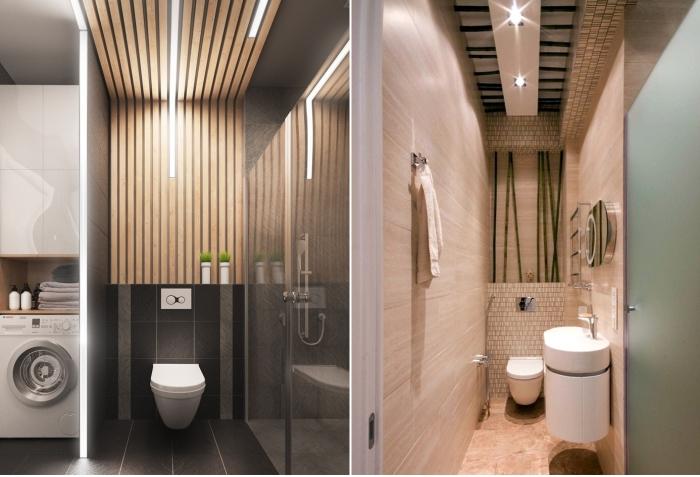 Несколько решений для оформления потолка. / Фото: potolok.expert.