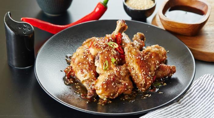 Запечённые куриные бёдра. \ Фото: google.com.ua.