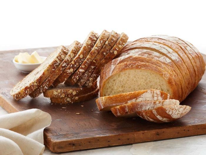 Хлеб из пшеничной муки. \ Фото: shefcookie.ru.