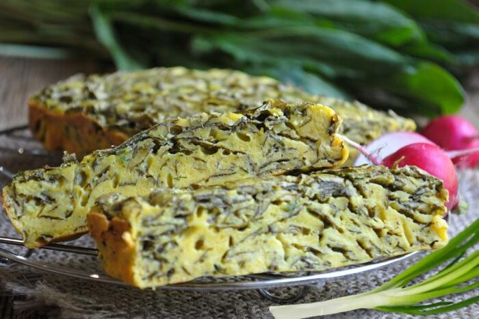 Щавелевый пирог. \ Фото: yandex.ru.