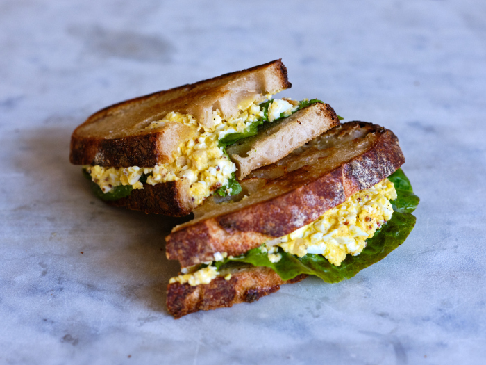 Сэндвичи с яичным салатом. \ Фото: olo-7.top.