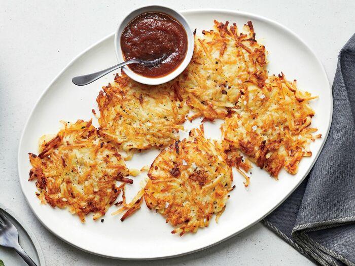 Картофельные оладьи. \ Фото: bursahaga.com.