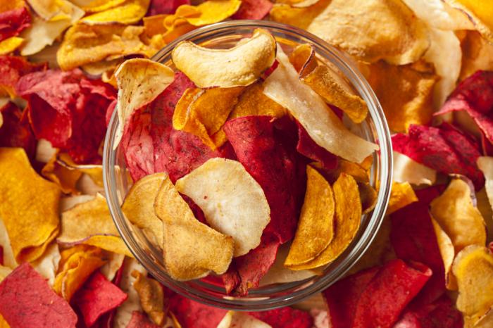 Морковные чипсы. \ Фото: bigmir.net.