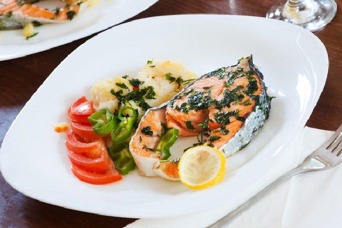 Запечённый лосось. \ Фото: segodnya.ua.