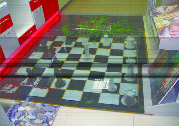 Шахматная доска. \ Фото: decorvega.ru.