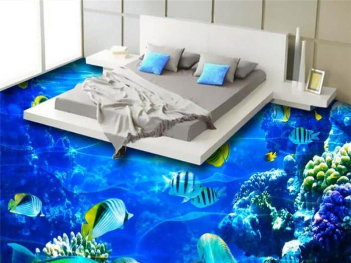 Море в спальне. \ Фото: veetbox.ru.