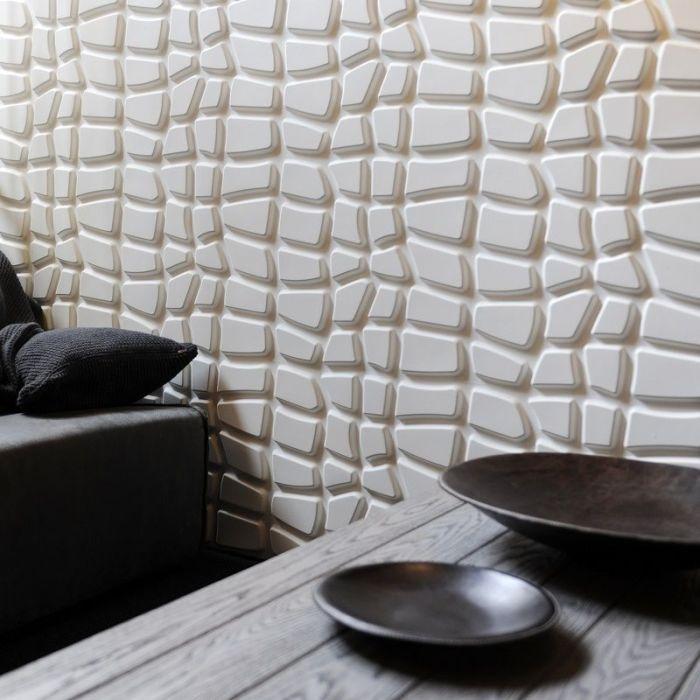 Трёхмерная картинка создает неповторимое ощущение безграничности и иллюзию живых стен.