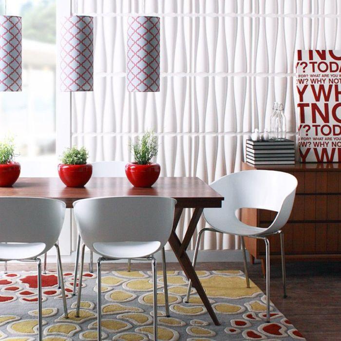 Такие панели станут прекрасным элементом декора любого интерьера.