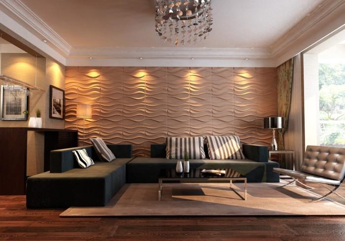 Такие панели создают условие для дополнительного утепления и звукоизоляции стен.