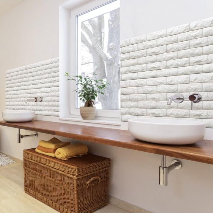 Дизайн интерьера прекрасно дополнится, если применить декоративные панели из пластика.