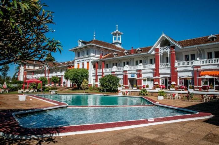 Отель Des Thermes Antsirabe расположен в городе Антсирабе. \ Фото: ru.ehotelsreviews.com.
