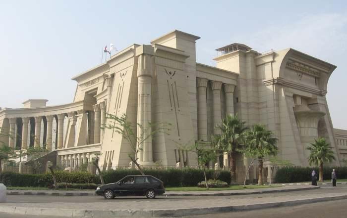 Верховный Конституционный Суд, Каир, Египет. \ Фото: reddit.com.