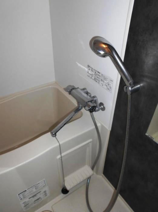 Зато есть вполне удобная ванная. Что немаловажно при съёме жилья.