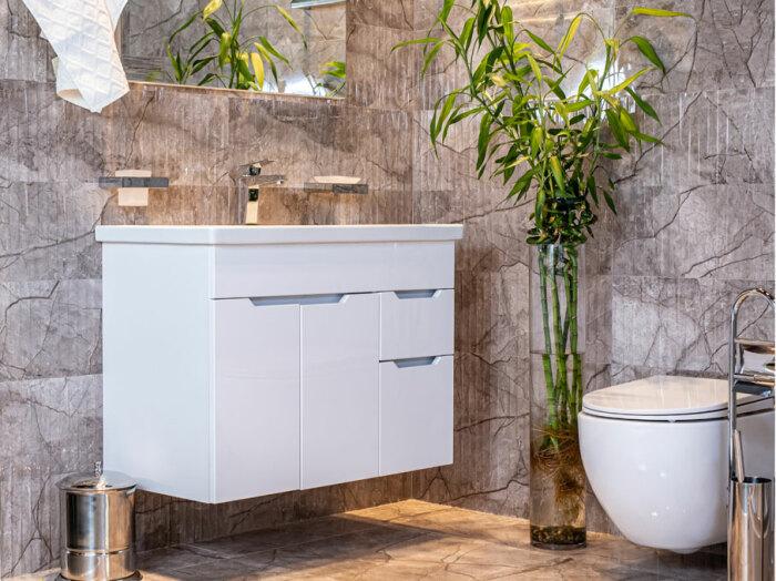 Оптимизация пространства ванной комнаты. \ Фото: google.com.
