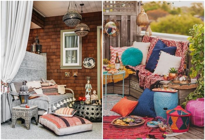 Марокканский стиль. \ Фото: digsdigs.com.