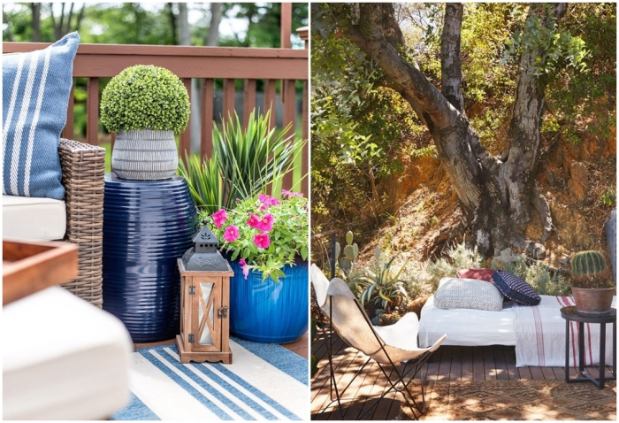 Место для отдыха в восточном стиле. \ Фото: pinterest.com.