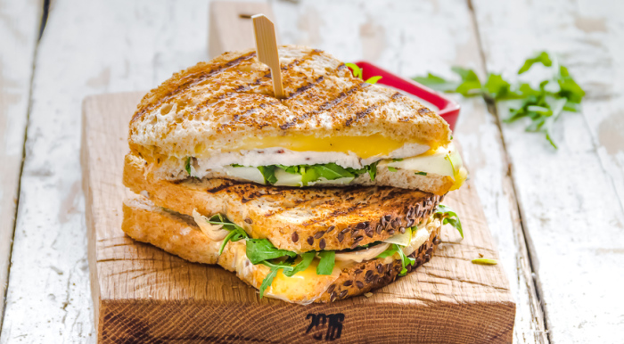 Сэндвич. \ Фото: yandex.uz.