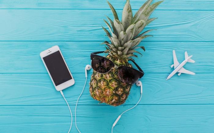 Еда под музыку. \ Фото: 1zoom.ru.