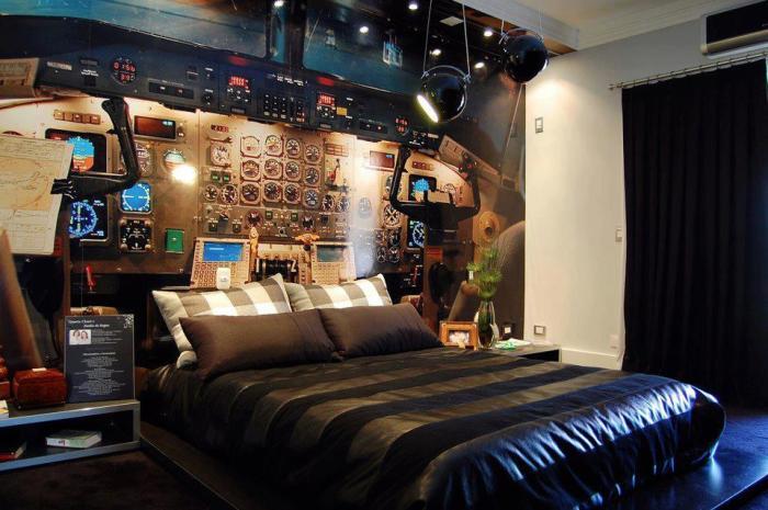 На космическом корабле. \ Фото: reddit.com.